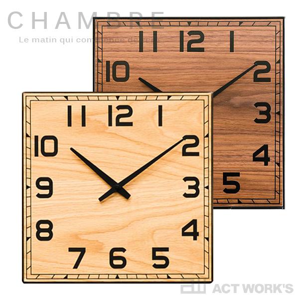 《全2色》CHAMBRE Hommage IRON CLOCK 掛け時計 アイアンクロック 【シャンブル デザイン雑貨 壁掛け時計 インテアリア 北欧 interzero インターゼロ ウォールクロック 英国 ブリティッシュ】