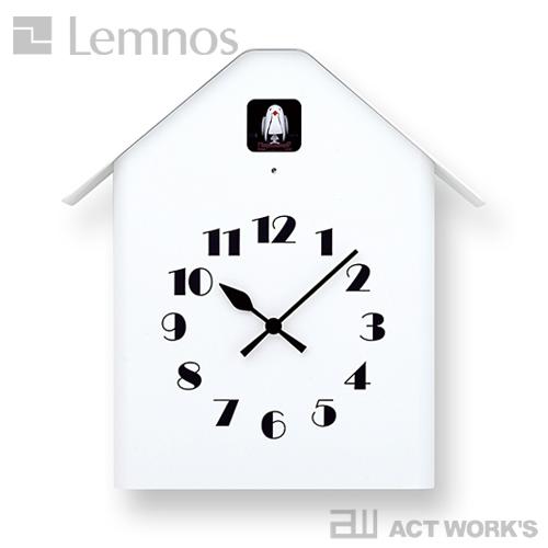 《全2色》LEMNOS Dachs Cuckoo カッコー時計 ダックス カッコー 【タカタレムノス デザイン雑貨 掛け時計 クロック シンプル インテリア 壁時計 リビング 鳩時計 ハト時計 玄関 子供部屋 寝室 北欧】