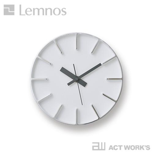 《全3色》LEMNOS edge clock エッジクロック -Sサイズ- 【タカタレムノス デザイン雑貨 置き時計 壁掛け時計 ウォールクロック スタイリッシュ インテアリア 北欧 リビング ダイニング キッチン オフィス 店舗】