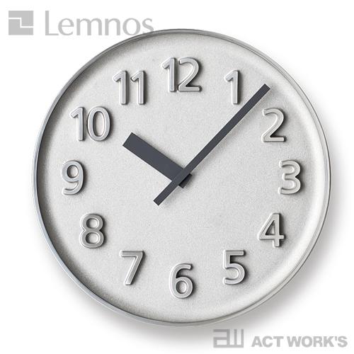 《全2色》LEMNOS ファウンダークロック Founder clock 【タカタレムノス デザイン雑貨 掛け時計 クロック シンプル インテリア 壁時計 富山県高岡市 北欧 鋳物 鋳造】