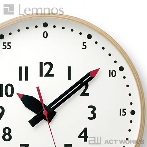 LEMNOS fun pun clock(L) 掛け時計 フンプンクロック 【タカタレムノス デザイン雑貨 壁掛け時計 インテアリア 北欧】