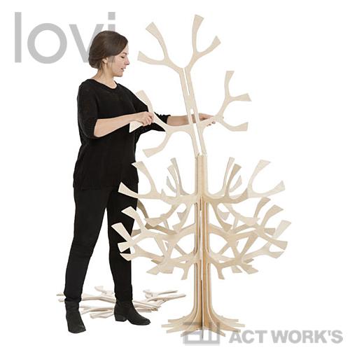 lovi Xmas Tree 180cm(Spruce Tree) クリスマスツリー【ロヴィ オブジェ フィンランド 白樺 バーチ材 リビング デザイン雑貨】