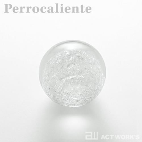 Perrocaliente SECCA 雪花 A(小) ペーパーウェイト 【ペロカリエンテ デザイン雑貨 セッカ ガラス オブジェ】