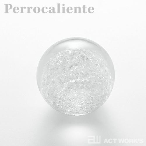 Perrocaliente SECCA 雪花 A(大) ペーパーウェイト 【ペロカリエンテ デザイン雑貨 セッカ ガラス オブジェ】