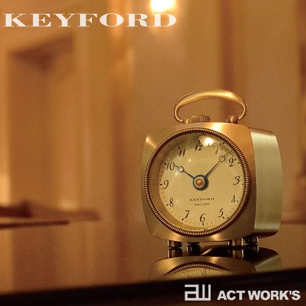 KEYFORD グラブ テーブルウォッチ GRAB TABLE WATCH 置き時計【デザイン雑貨 レトロ モダン インテリア】