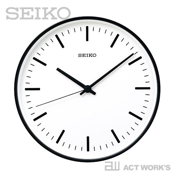《全2色》SEIKO clock STANDARD L(31cm) スタンダード KX308 【セイコー 壁掛け時計 掛け時計 深澤直人 デザイン雑貨 インテリア 電波時計 ウォールクロック シンプル】