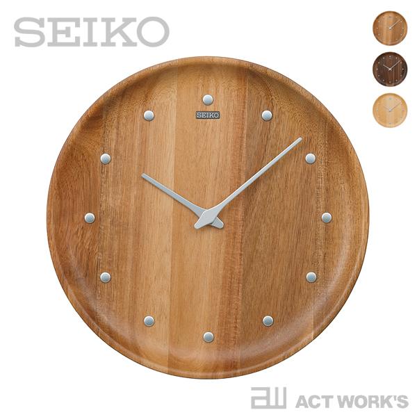 《全3色》SEIKO clock nu・ku・mo・ri KX622 ヌクモリ 【セイコー 壁掛け時計 掛け時計 デザイン雑貨 インテリア ウォールクロック シンプル クォーツ】