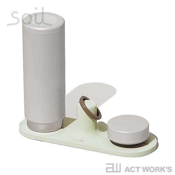 《全3色》Soil ドライングボードforボトル drying board for bottle 水筒・マグボトル用水切り板 【珪藻土 ソイル 水滴 しずく 置き キッチン 台所 水濡れ】