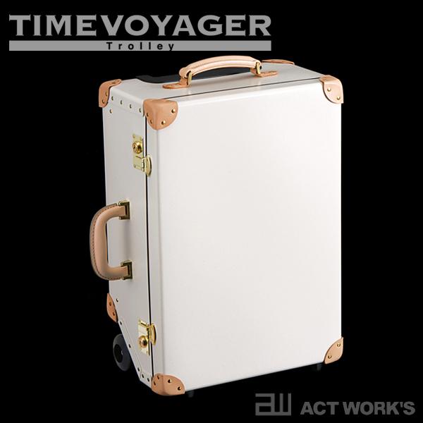 《全4色》TIMEVOYAGER PREMIUM1 トロリーバッグ キャリーバッグ 【タイムボイジャー プレミアム1 デザイン雑貨 本革 出張 海外旅行】
