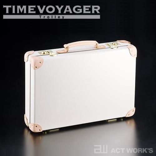 《全3色》TIMEVOYAGER PREMIUM A3 アタッシュケース ビジネスバッグ 【タイムボイジャー プレミアムA3 デザイン雑貨 本革 出張 海外旅行】