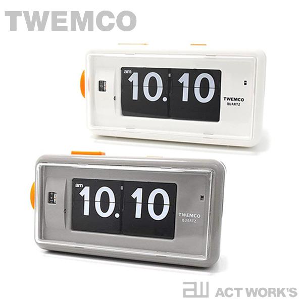 《全2色》TWEMCO Desk Alarm AL-30 デスクアラーム クロック 目覚まし時計 【トゥエムコ トゥエンコ デザイン雑貨 置き時計 とけい パタパタ アナログ 卓上 表示 置時計 オフィス 店舗 北欧】