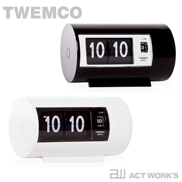 《全2色》TWEMCO パタパタクロック AP-28 置き時計 【トゥエンコ トゥエムコ デザイン雑貨 とけい パタパタ デジタル 表示 オフィス 店舗 北欧 置時計 デスククロック】
