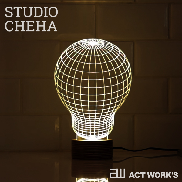 BULBING lamp LEDスタンドライト バルビング ランプ STUDIO CHEHA 【YO-KO デザイン雑貨 間接照明 常夜灯 LED照明 テーブルランプ ナイトライト MoMA 卓上ランプ】