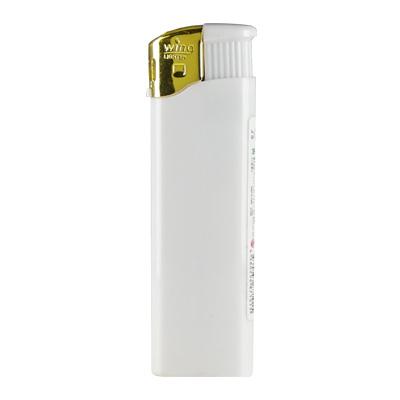 名入れライター プッシュゴールド 白・黒単色 1000本(1色名入れ)PSC認定