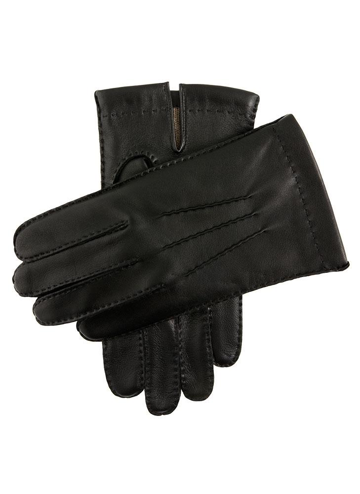 DENTS(デンツ) 5-9201 SHAFTESBURY レザー グローブ 手袋 手ぶくろ アームウェア カシミア カラーBlack/ブラック メンズ