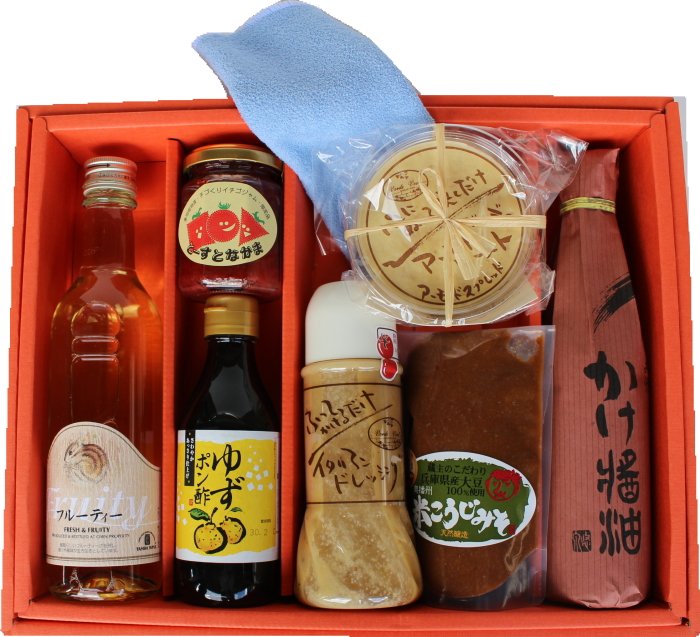 I want to eat! Presents a special gift kenmin show! Almond butter other total 9 parts soy sauce soy sauce