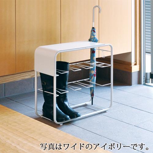 【送料無料】Pulse ブーツベンチ&アンブレラスタンド - スリム ■【日本製 FRAMES&SONS】
