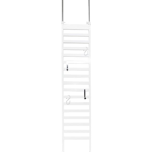 【送料無料】突っ張りボーダーパーテーション幅40 ■【日本製/つっぱり/突っぱり/すき間収納/すきま/スリム】