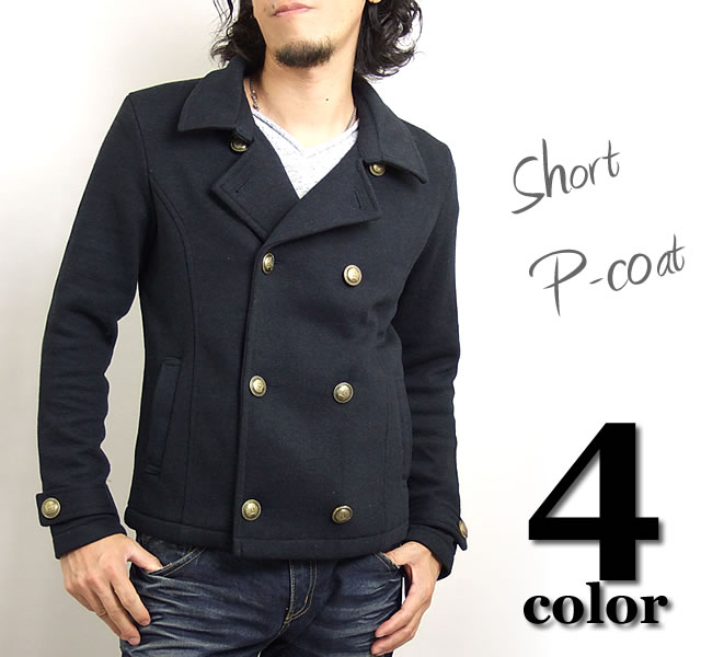 adamas | Rakuten Global Market: Pea coat (coat) short-length and ...