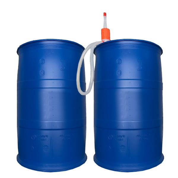 AdBlueアドブルー用 200Lドラム缶(空容器)×2缶(ポンプ1本付)セット