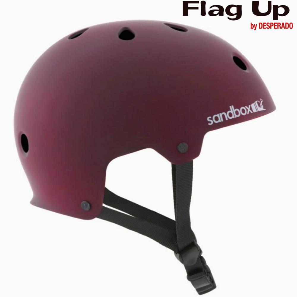 18-19 sandbox LEGEND LOWRIDER ヘルメット スノーボード Burgundy サンドボックス