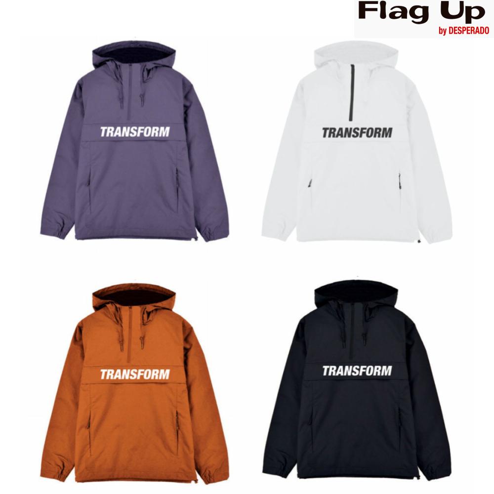 18-19 TRANSFORM THE FAST TEXT WINDBREAKER トランスフォーム ウインドブレーカー スノーボード gloves グローブ