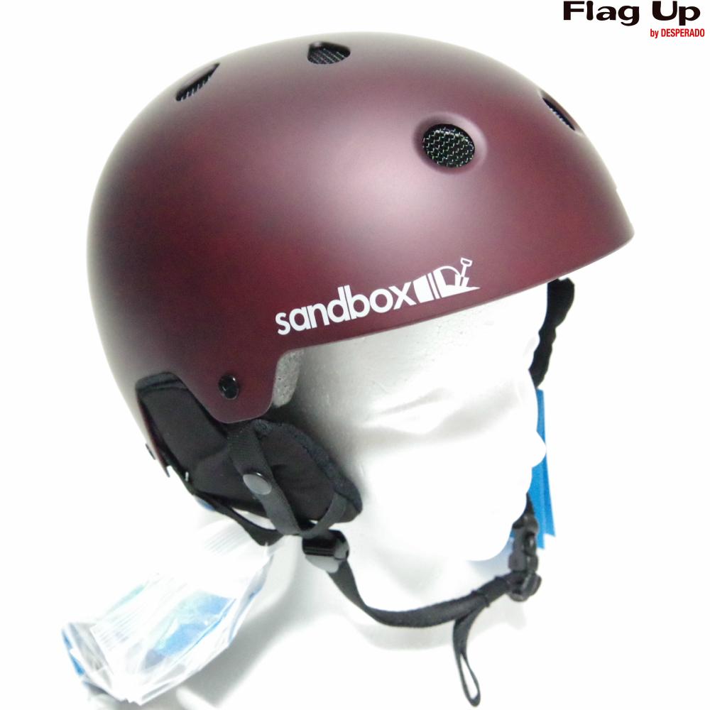 19-20 sandbox LEGEND SNOW ASIAFIT ヘルメット スノーボード BURGUNDY サンドボックス アジアンフィット