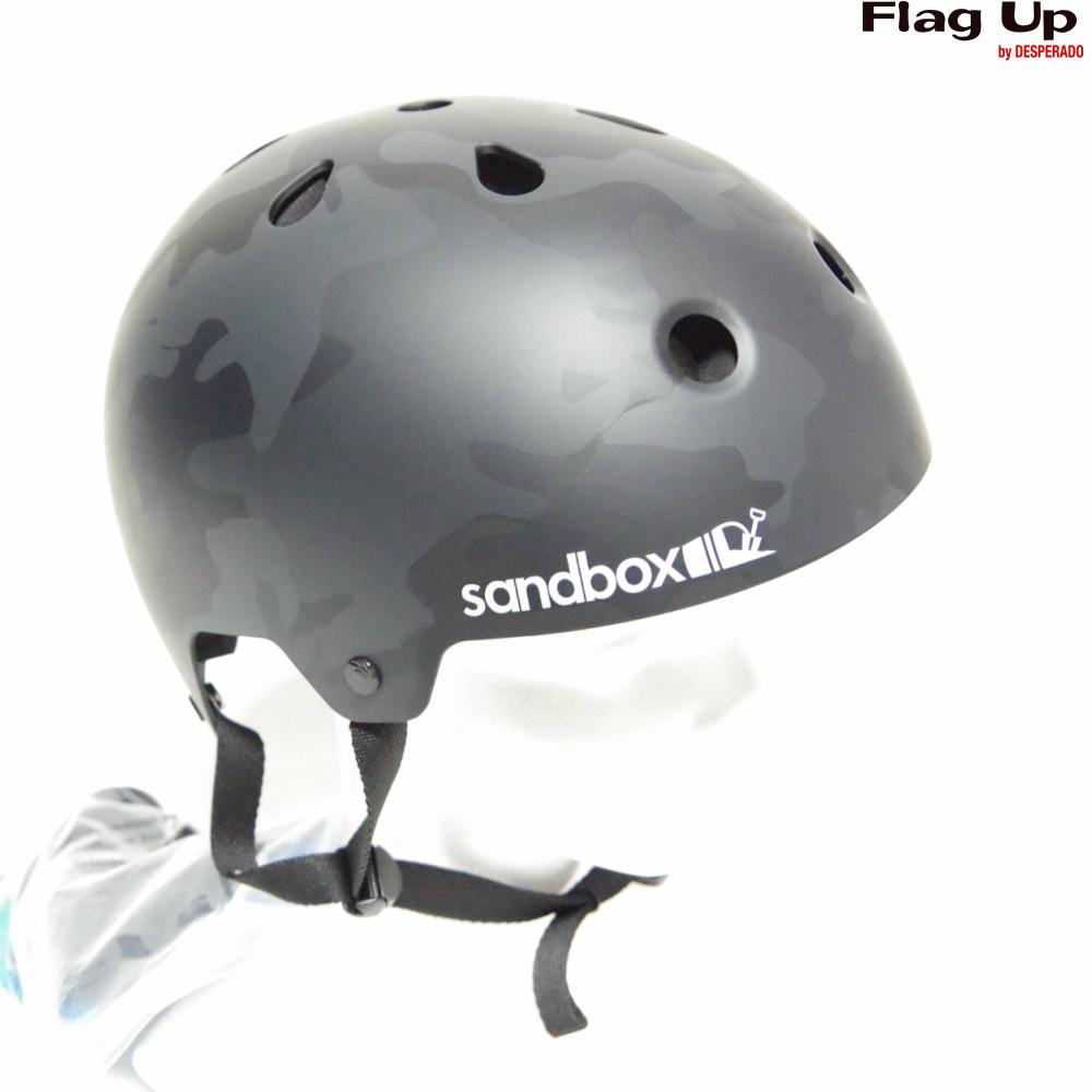 19-20 sandbox LEGEND LOW RIDER ヘルメット スノーボード BLACKCAMO サンドボックス