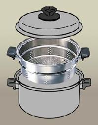 ビタクラフト ( VitaCraft ) 大蒸し器 (3306)