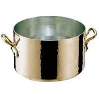 モービル 銅 半寸胴鍋36cm