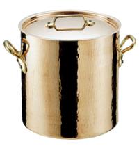 モービル 銅 寸胴鍋(蓋付)32cm