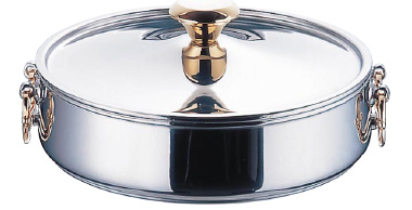 ニュー電磁 ちりしゃぶ鍋(18クロームモリブデン鋼) 24cm【smtb-tk】