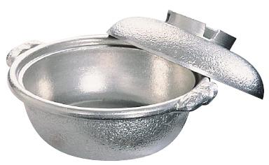 アルミ 土鍋(白仕上風) 33cm【smtb-tk】
