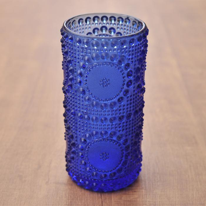 リーヒマエン・ラシ ナニー・スティル グラッポニア ベース ブルー ビンテージ vintage ヴィンテージ Riihimaen Lasi Nanny Still Grapponia