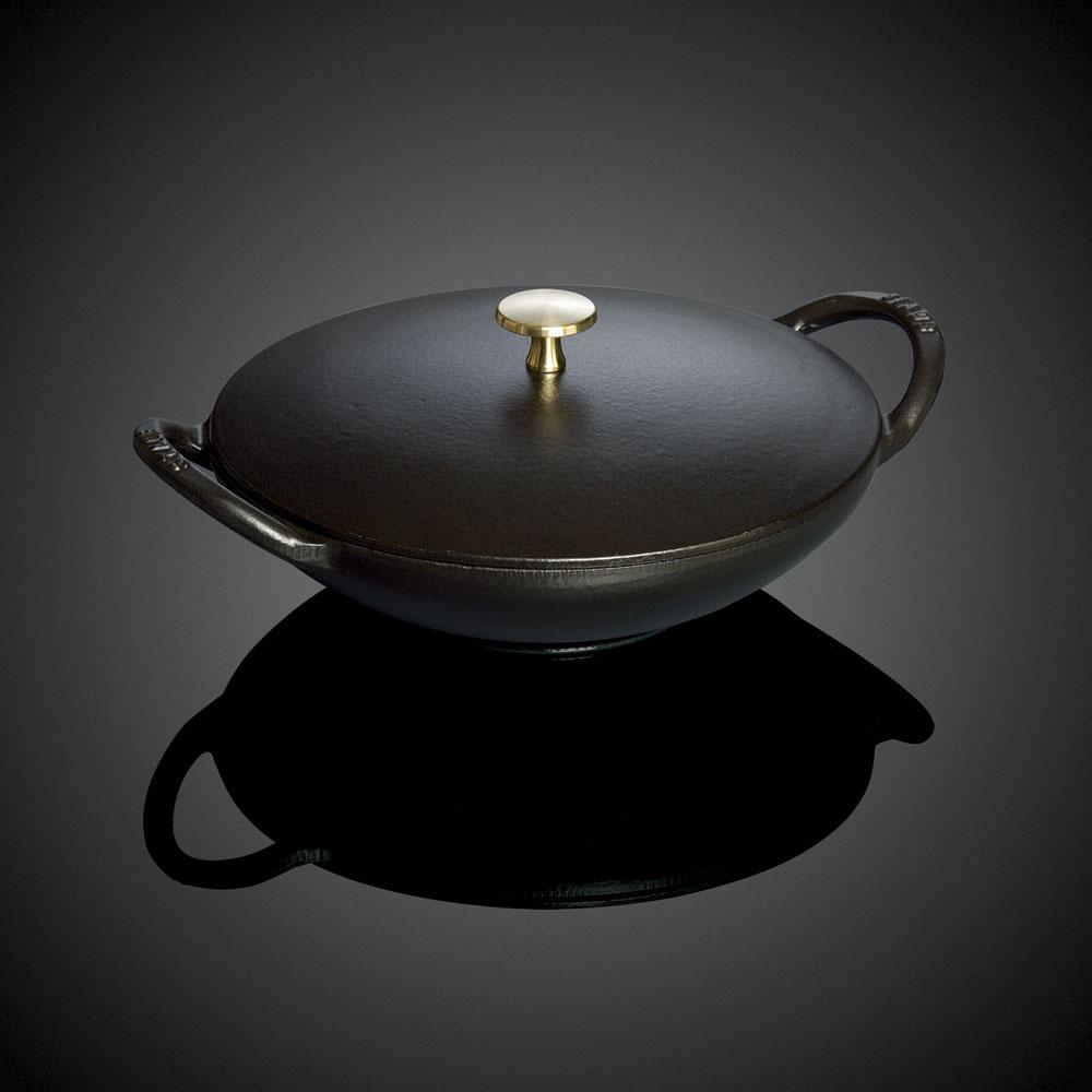 ストウブ ウォックパン 24cm 40501-245 ブラック