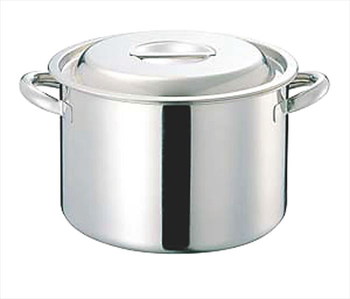 CLO 電磁モリブデン半寸胴鍋(目盛付) 42cm