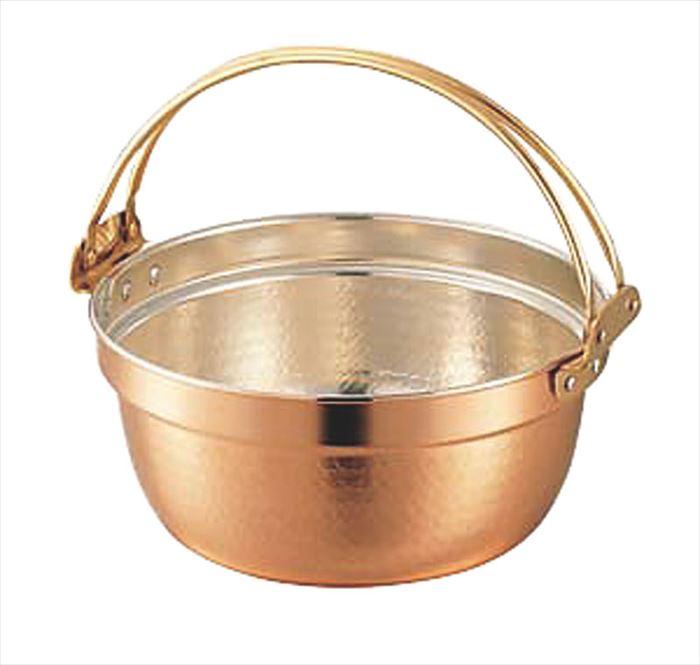 【エントリーでP5倍★3/21 20:00~3/28 1:59】SW 銅料理鍋 ツル付 39cm(13.0L)