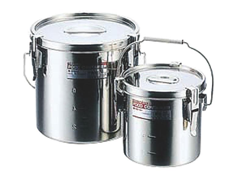 モリブデンテーパーパッキン汁食缶 24cm目盛付(10.0L)