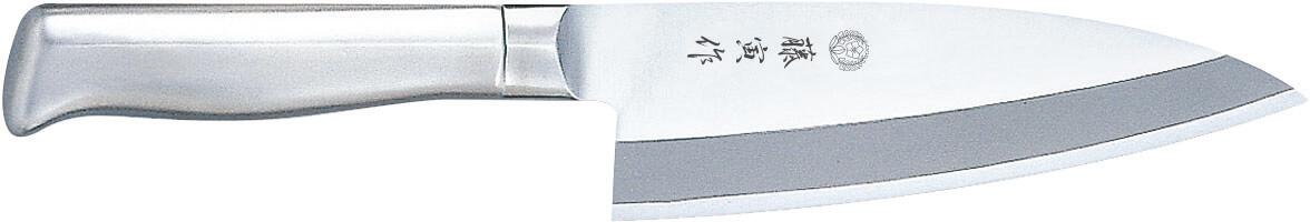 【エントリーでP5倍★3/21 20:00~3/28 1:59】藤寅作 DP複合共柄 出刃 150mm FU-635