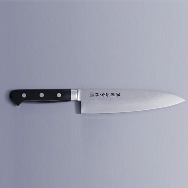 ポイントアップ実施中 10倍 佐竹産業 ダマスカス鋼 牛刀包丁 調理道具 DM002 ナイフ 刃渡り180mm メーカー公式 驚きの価格が実現