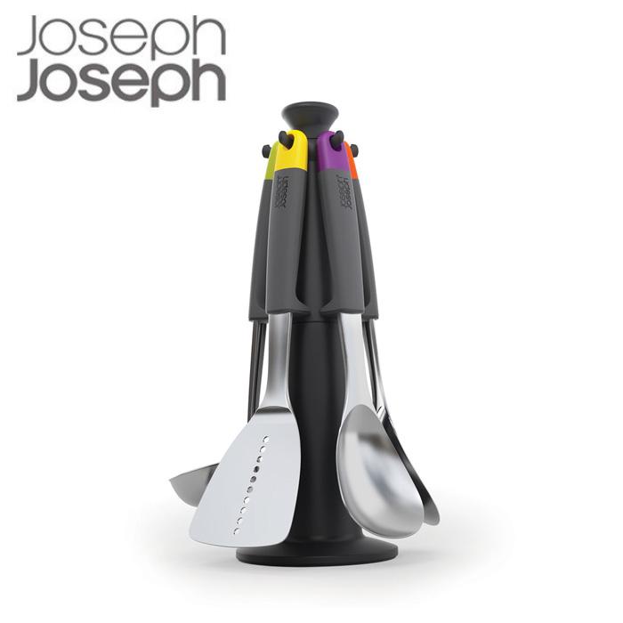 【P10倍】ジョセフジョセフ エレベートカルーセルセット スチール 100440 Joseph Joseph キッチン ツールセット 調理器具