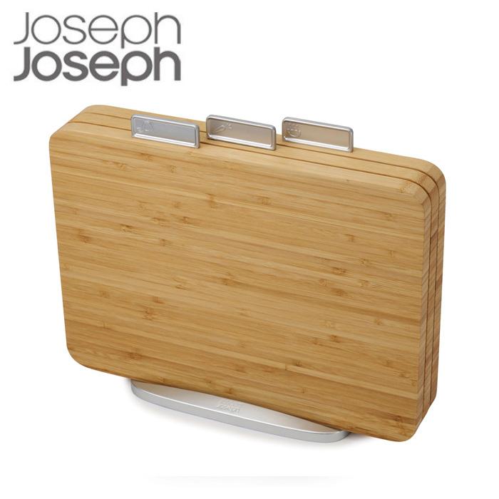 ジョセフジョセフ インデックス付き まな板 バンブー 60141 Joseph Joseph カッティングボード 竹製 まないた 俎板
