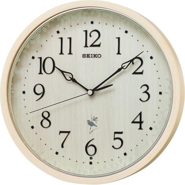 セイコー 報時電波掛時計 RX215A天然色