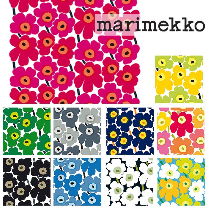 \2/15限定!エントリーで最大P19倍♪/【期間限定SALE特価!】生地 マリメッコ ピエニ ウニッコ Pieni Unikko MARIMEKKO marimekko【数量3個(=生地30cm)以上でご注文ください】30cm以上から10cm単位で切り売り
