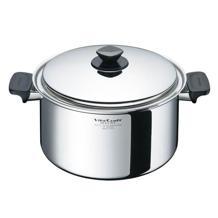 ビタクラフト ヘキサプライ 両手ナベ 7.5L 6129 vitacraft 調理器具 キッチン ステンレス 両手鍋