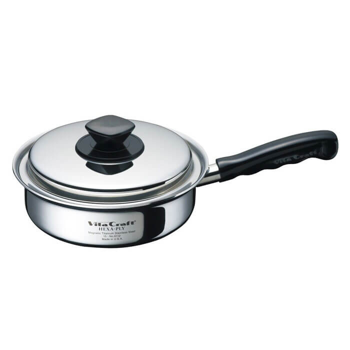 ビタクラフト ヘキサプライ フライパン 20cm 6112 vitacraft 調理器具 キッチン ステンレス