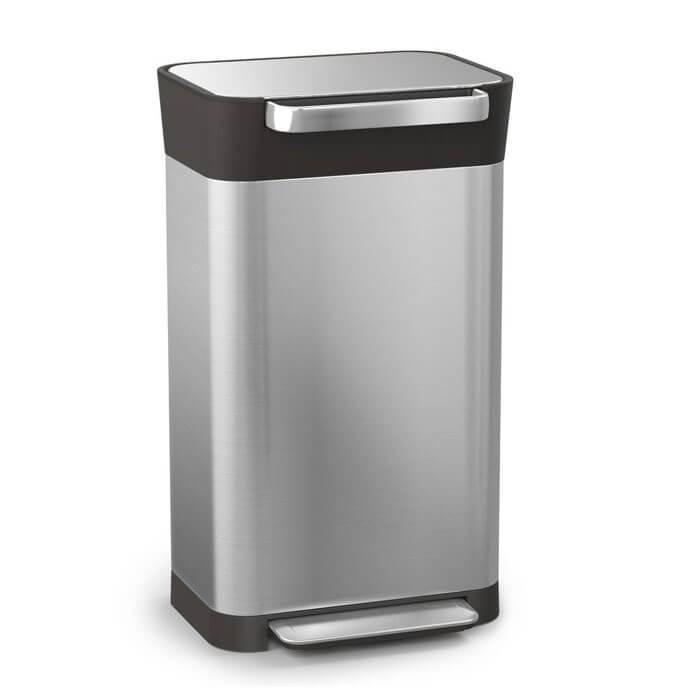 ジョセフジョセフ ゴミ箱 クラッシュボックス おしゃれ ふた付き ごみ箱 圧縮 ダストボックス ペール