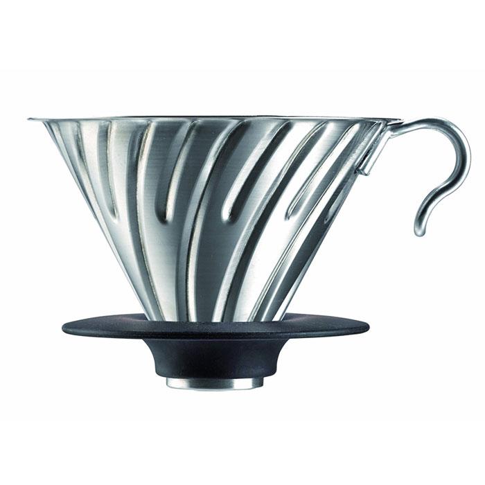 ハリオ V60メタルドリッパー (シルバー)( VDM-02HSV ) 【 hario コーヒー用品 道具 ステンレス キッチン 】