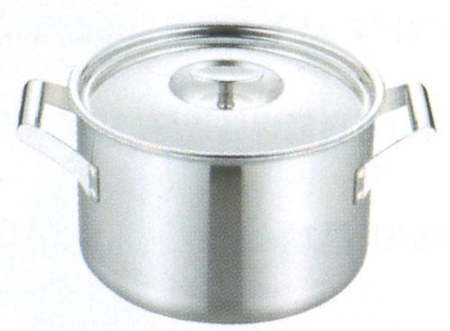 【プロからの提案 IHクッキングヒーターに最適!今なら】フジノス エレックマスター プロ 24cm両手深鍋(116123)