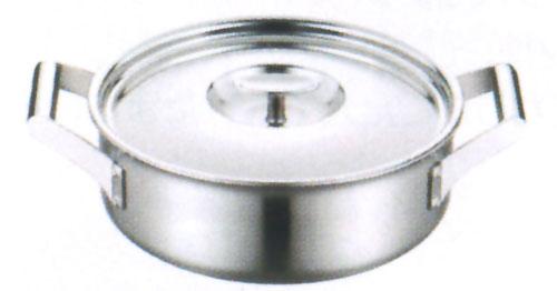 【プロからの提案 IHクッキングヒーターに最適!今なら】フジノス エレックマスター プロ 24cm両手浅鍋(116116)